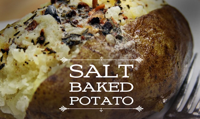Salt Baked Potato