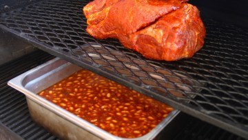 Pulled Pork BBQ Smoked Beans Recipe