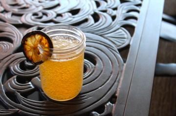 Grilled Lemonade Shandy Drink Recipe