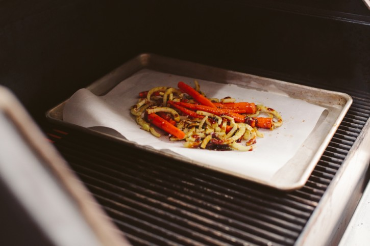 Molasses Roasted Carrots and Fennel