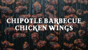 Chipotle Barbecue Chicken Wings Recipe