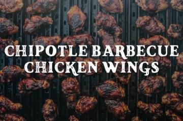 Chipotle Barbecue Chicken Wings Recipe