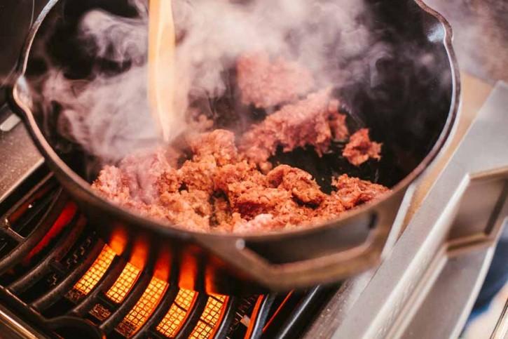 Queso con Carne