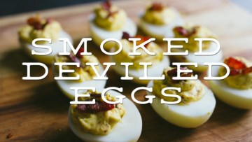 Smoked Deviled Eggs Recipe