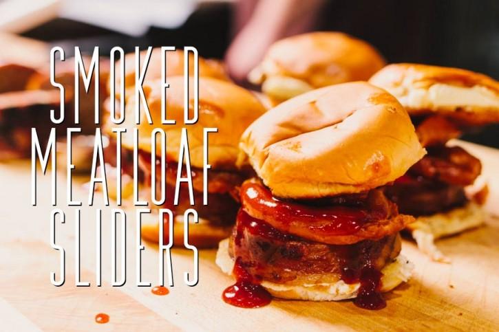 Smoked Meatloaf Sliders