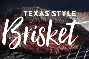 Texas Style Brisket Recipe