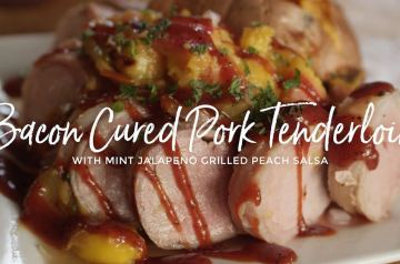 Bacon Cured Pork Tenderloin Recipe
