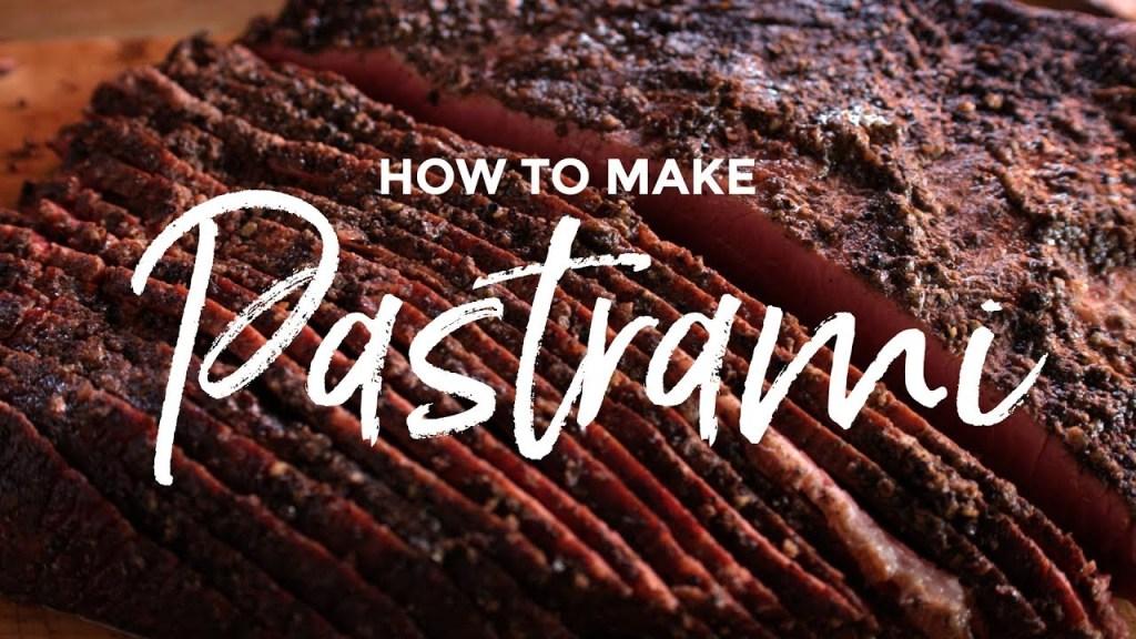 How to Make Pastrami Recipe