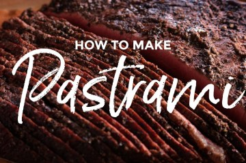 Recipe to Make Pastrami