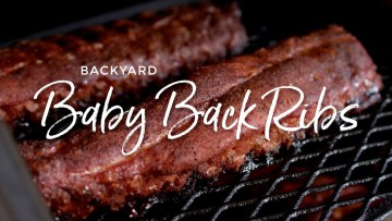 Backyard Baby Back Ribs Recipe