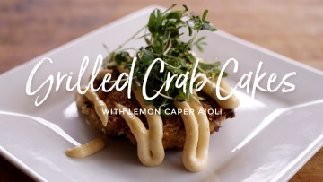 Grilled Crab Cakes Recipe
