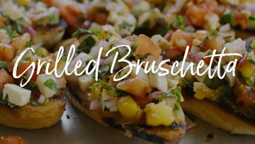 Grilled Bruschetta Recipe