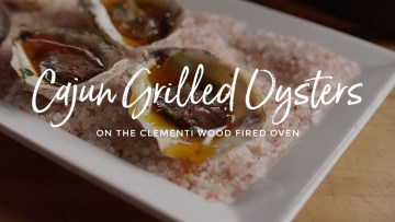 Cajun Grilled Oysters Recipe