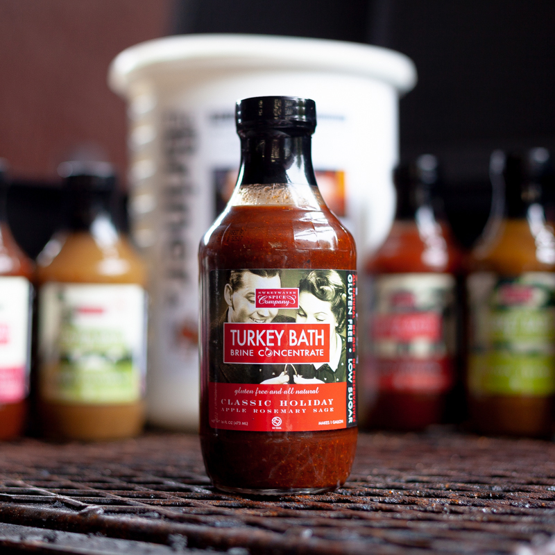 Sweetwater Spice Apple Rosemary Sage Classic Holiday Turkey Bath Brine Concentrate
