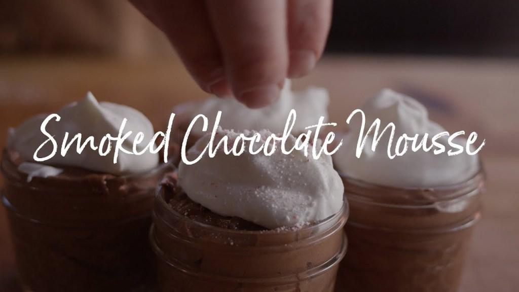 Smoked Chocolate Mousse Recipe
