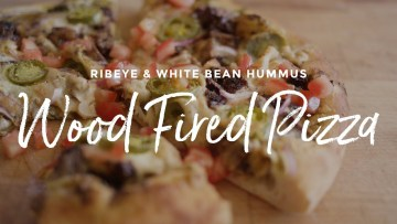 Ribeye & White Bean Pizza recipe
