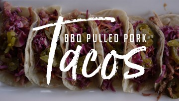 BBQ Pulled Pork Tacos Recipe
