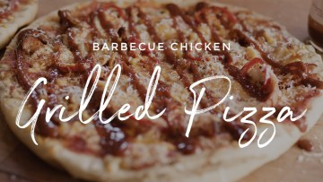 Barbecue Chicken Grilled Pizza Recipe