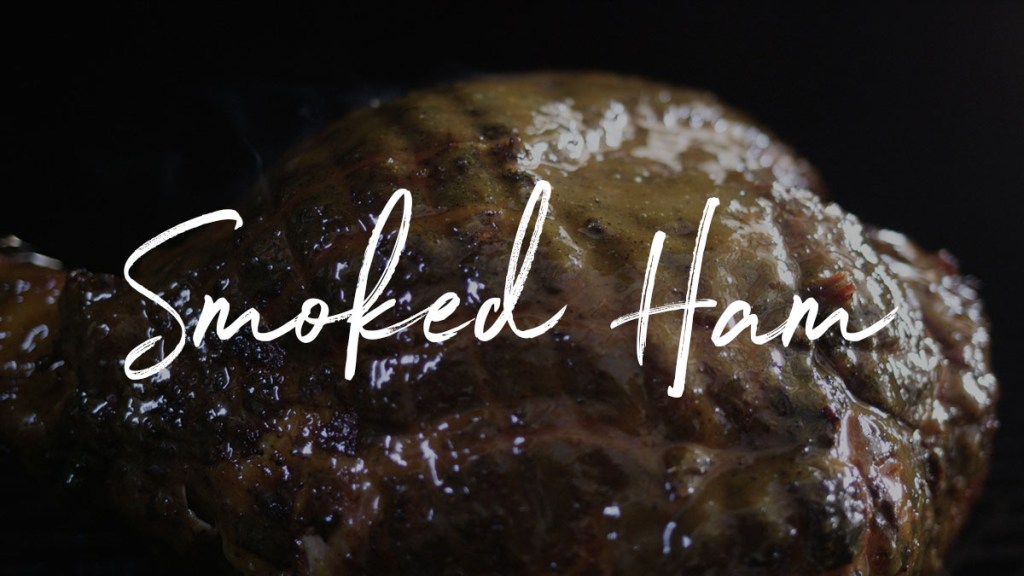 Fresh Smoked Ham Recipe