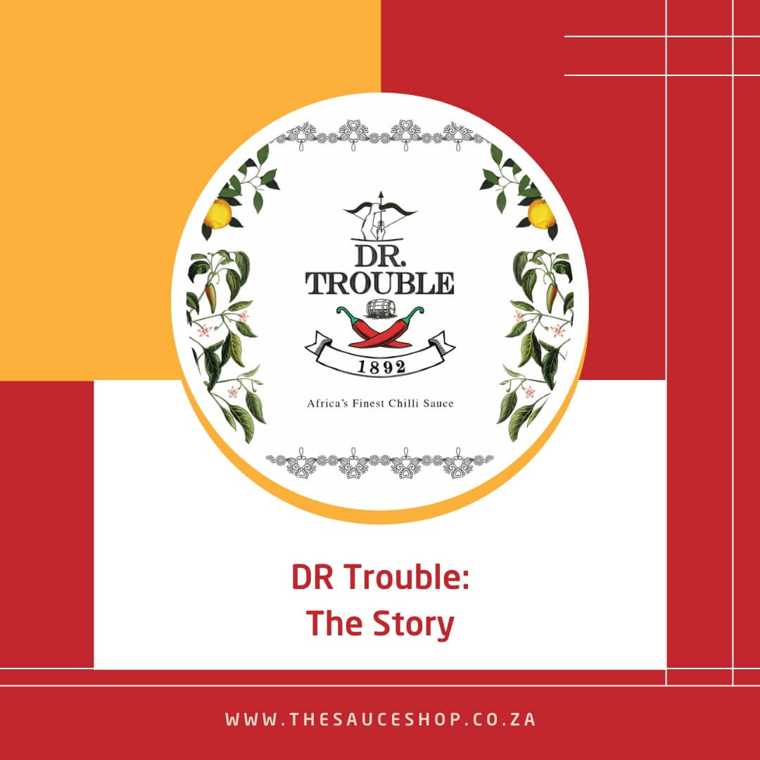 Image of DR Trouble Hot Sauce Brand