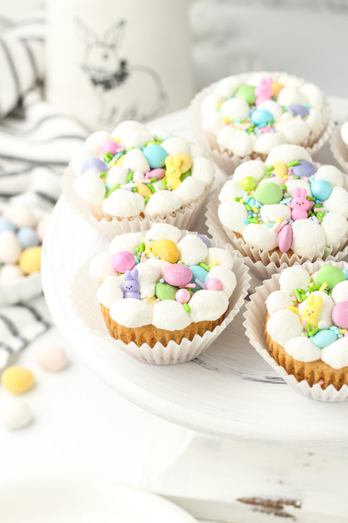 Easter cookies in a muffin tin