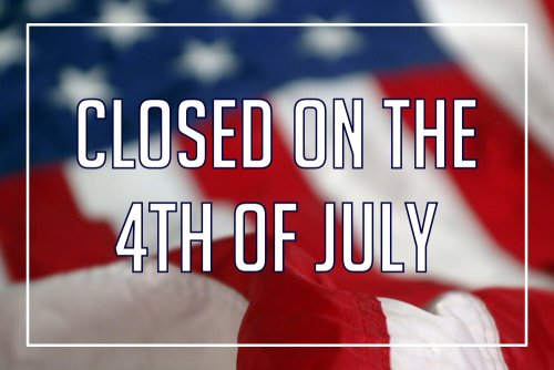 Maiale is Closed for the 4th of July