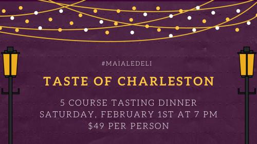 Taste of Charleston February 1st 2019