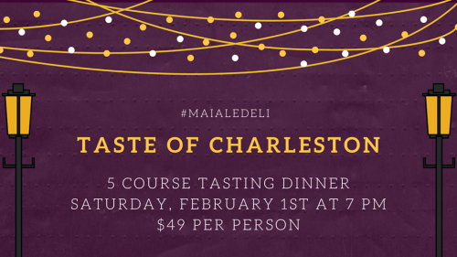 Taste of Charleston February 1st 2019