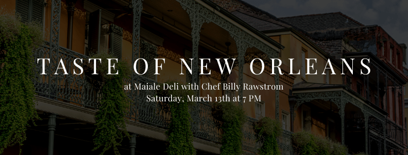 A Taste of New Orleans 5 Course Dinner at Maiale Deli
