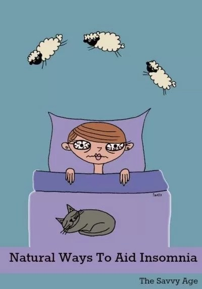 Natural sleeping aids to help with insomnia and achieving a restful night of sleep.