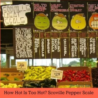 Scoville Pepper Scale: Cooking With Peppers – How Hot Is Too Hot?