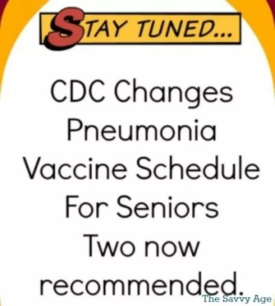 Two Pneumonia Vaccines Recommended For Seniors