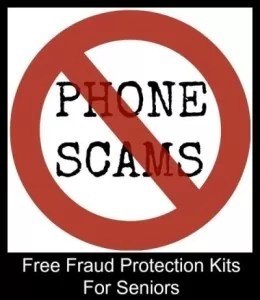 Fraud Protection Kit For Seniors offered free.