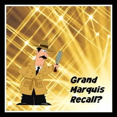 No Ford Recall For Grand Marquis Headlight Failure