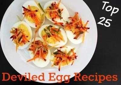 Top 25 Deviled Egg Recipes