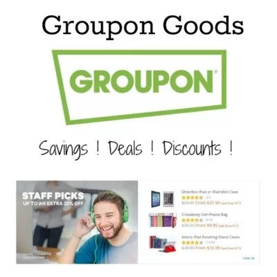Smart Shopping With Groupon Goods #Groupon #ad