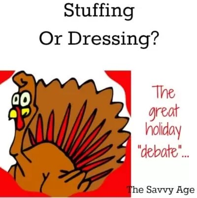 You Say Stuffing? I Say Dressing? The Thanksgiving Debate
