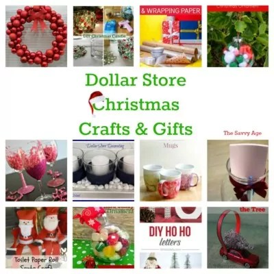 DIY Dollar Store Christmas Crafts