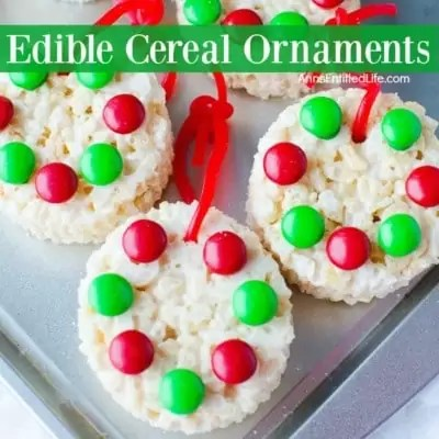 Edible Ornaments