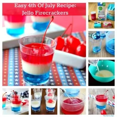4th Of July Dessert! Jello Firecrackers Recipe