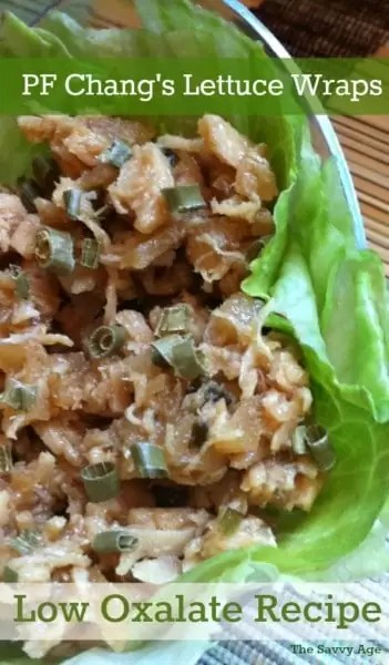 Lettuce wrap with stir fry chicken.