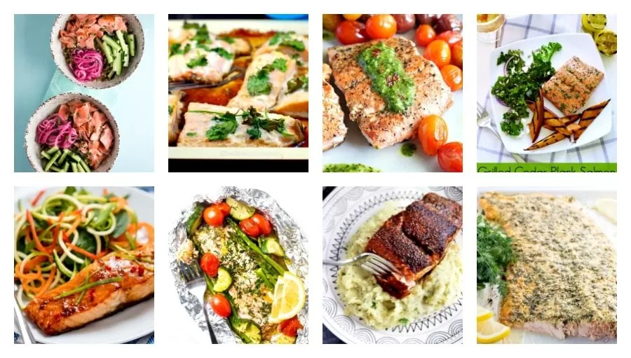 salmon dinner recipes