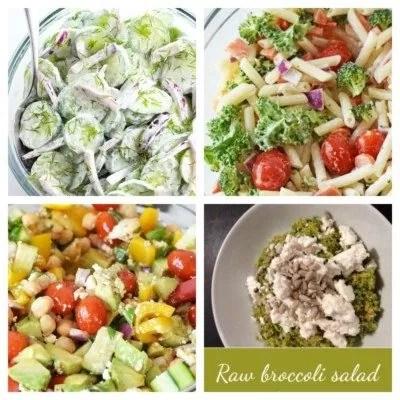 low oxalate salads