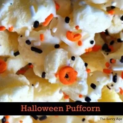Halloween Puffcorn Recipe – Boo!