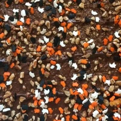 Candy Corn Halloween Chocolate Bark Recipe