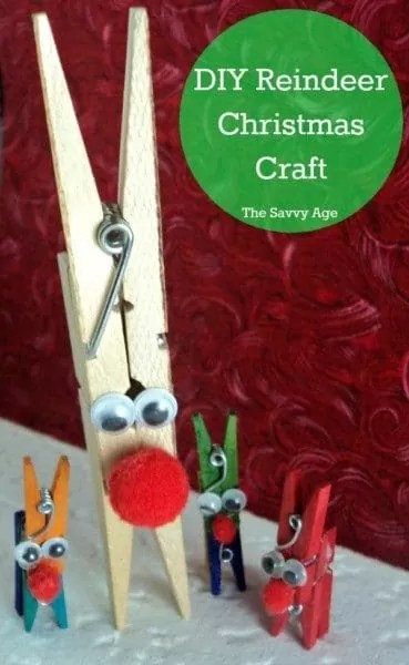 DIY Reindeer Christmas Craft! Cute Christmas decoration for all the reindeer fans.