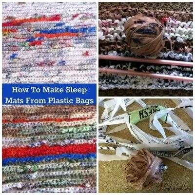 sleep mats from plastic bags fb