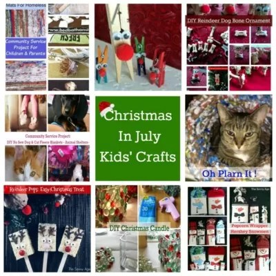 Christmas In July Kids' Crafts