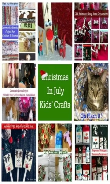 Reindeer craft, plarn craft, no sew fleece blanket, hershey bar craft