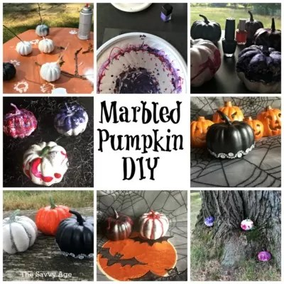 Say Yes To The Marbled Pumpkins !